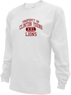 Clinton Young Elementary School Kid Long Sleeve Shirts