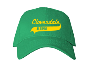 Cloverdale Elementary School Embroidered Baseball Caps