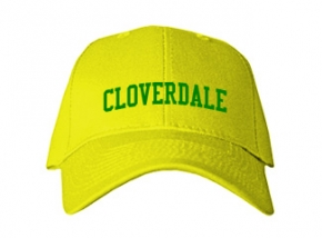 Cloverdale Elementary School Kid Embroidered Baseball Caps