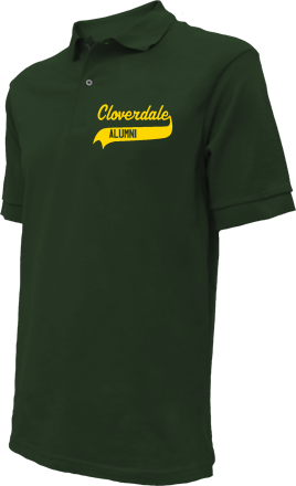Cloverdale Elementary School Embroidered Polo Shirts