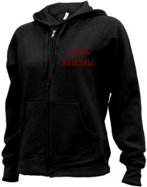 Clyde High School Zip-up Hoodies