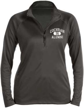 Cochran Elementary School Stretch Tech-Shell Compass Quarter Zip
