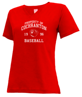 Cochranton High School V-neck Shirts
