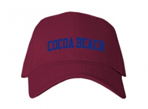 Cocoa Beach High School Kid Embroidered Baseball Caps