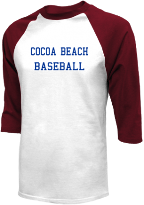 Cocoa Beach High School Raglan Shirts
