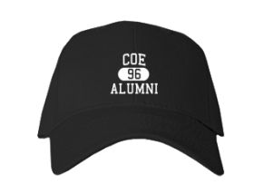 Coe Elementary School Embroidered Baseball Caps