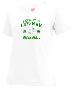 Coffman High School V-neck Shirts
