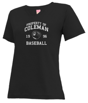 Coleman High School V-neck Shirts