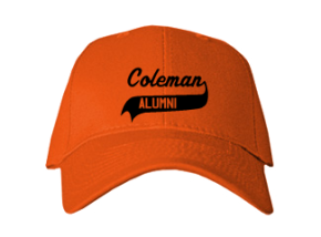 Coleman Middle School Embroidered Baseball Caps