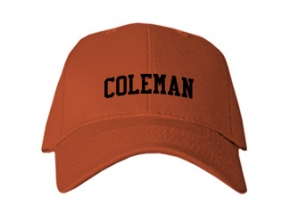 Coleman Middle School Kid Embroidered Baseball Caps