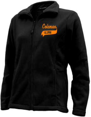 Coleman Middle School Embroidered Fleece Jackets