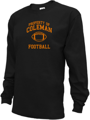 Coleman Middle School Kid Long Sleeve Shirts