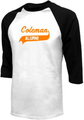 Coleman Middle School Raglan Shirts