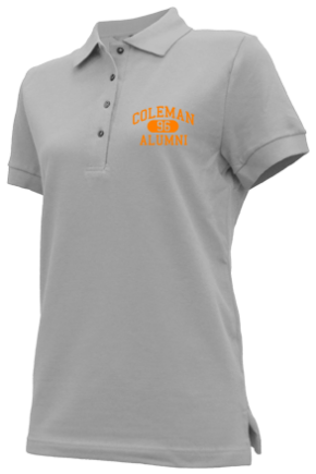 Coleman Middle School Embroidered Polo Shirts