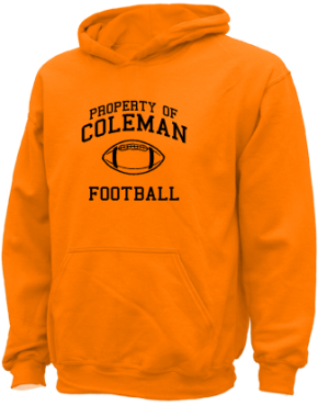 Coleman Middle School Kid Hooded Sweatshirts