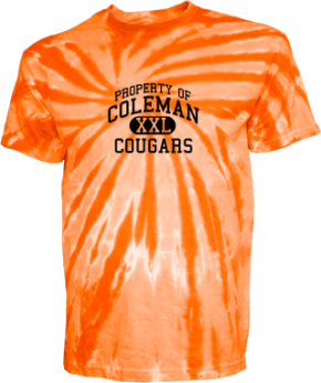 Coleman Middle School Kid Tie-dye T-Shirts