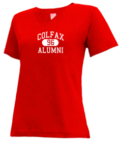 Colfax High School V-neck Shirts