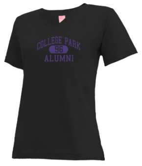 College Park High School V-neck Shirts