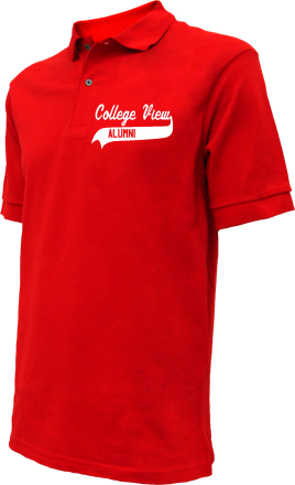 College View Elementary School Embroidered Polo Shirts