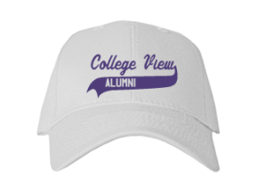 College View Middle School Embroidered Baseball Caps