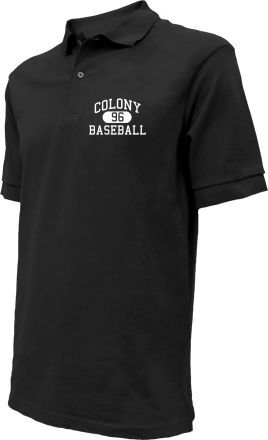 Colony High School Embroidered Polo Shirts
