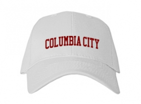 Columbia City High School Kid Embroidered Baseball Caps