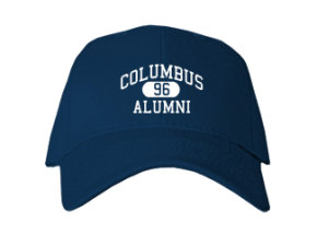 Columbus Middle School Embroidered Baseball Caps