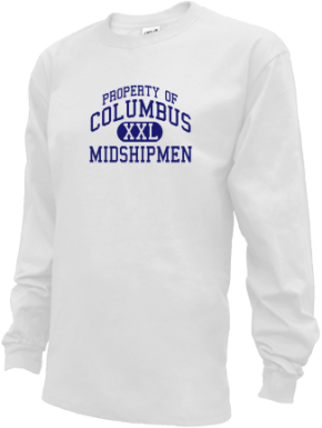 Columbus Middle School Kid Long Sleeve Shirts