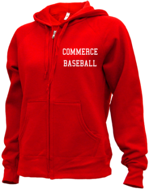 Commerce High School Zip-up Hoodies
