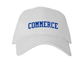Commerce High School Kid Embroidered Baseball Caps