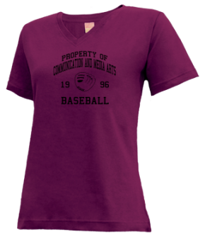 Communication And Media Arts High School V-neck Shirts