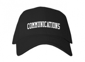 Communications High School Kid Embroidered Baseball Caps