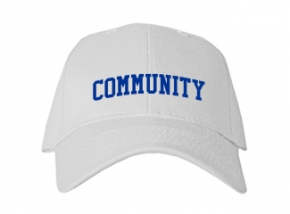 Community High School Kid Embroidered Baseball Caps