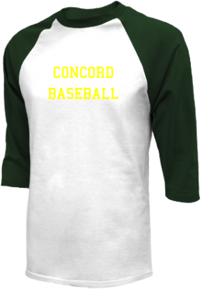 Concord High School Raglan Shirts