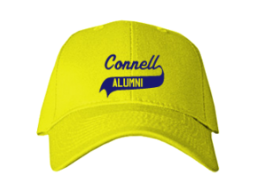 Connell Elementary School Embroidered Baseball Caps
