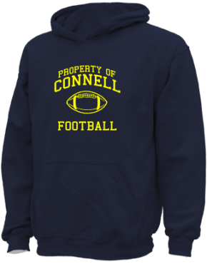 Connell Elementary School Kid Hooded Sweatshirts
