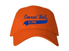 Conrad Ball Middle School Embroidered Baseball Caps