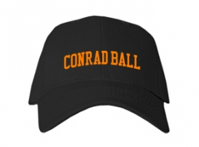 Conrad Ball Middle School Kid Embroidered Baseball Caps