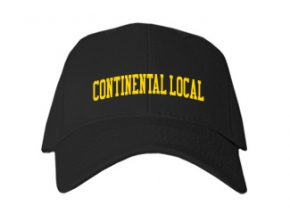 Continental Local High School Kid Embroidered Baseball Caps