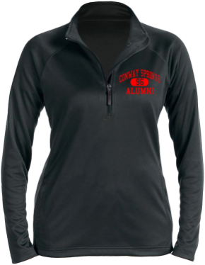 Conway Springs High School Stretch Tech-Shell Compass Quarter Zip