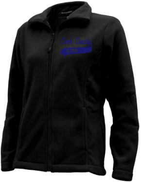 Cook County High School Embroidered Fleece Jackets