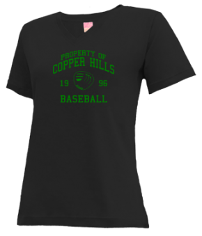 Copper Hills High School V-neck Shirts