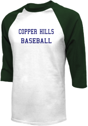 Copper Hills High School Raglan Shirts