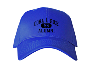 Cora L Rice Elementary School Embroidered Baseball Caps