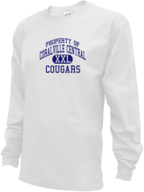 Coralville Central School Kid Long Sleeve Shirts