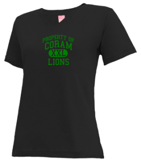 Coram Elementary School V-neck Shirts