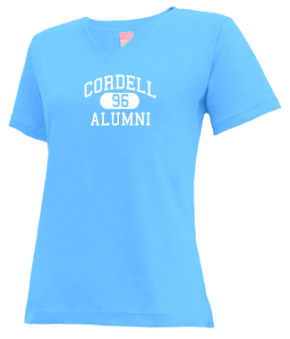 Cordell High School V-neck Shirts