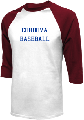 Cordova High School Raglan Shirts
