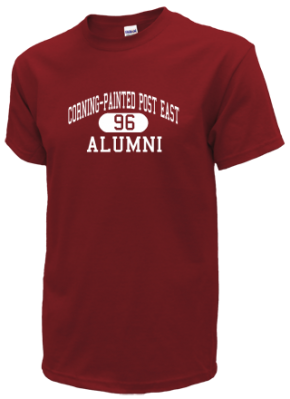 Corning-painted Post East High School T-Shirts