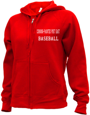 Corning-painted Post East High School Zip-up Hoodies
